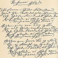 billede af Grundtvigs haandskrift